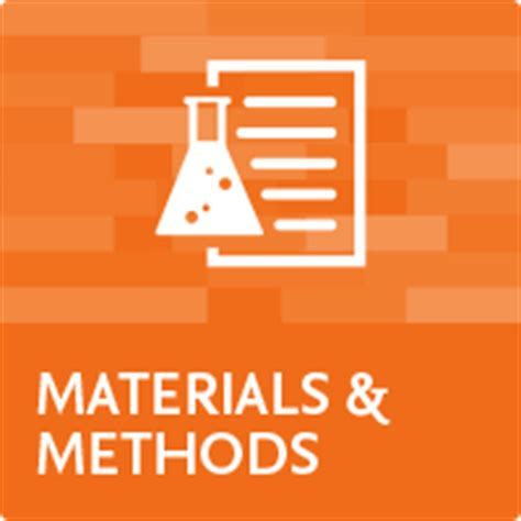 How to write a materials and methods section of a
